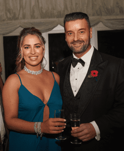 Nik Ellis & Justine McLaughlin at the Wirral life Ball